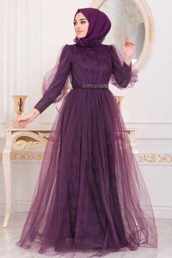Hijab Abendkleid-mu - Thumbnail