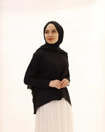 Tesettur Paris - Hijab Blouse-noir