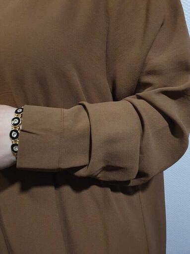 Helen Hijab Zweiteiler Camel - Thumbnail