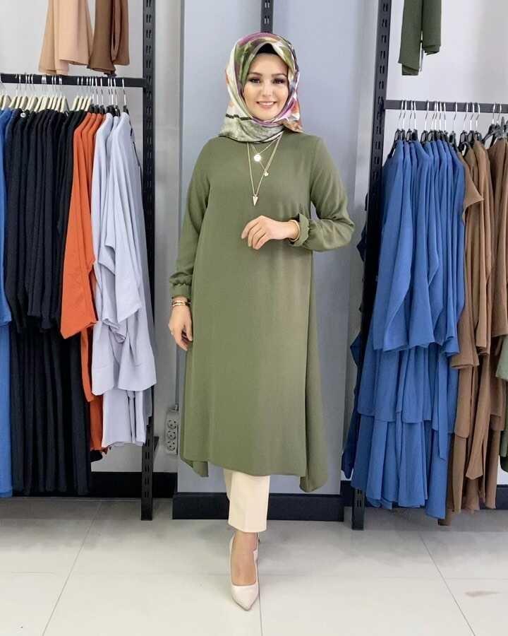 Mevlana Hijab Tunique Kaki