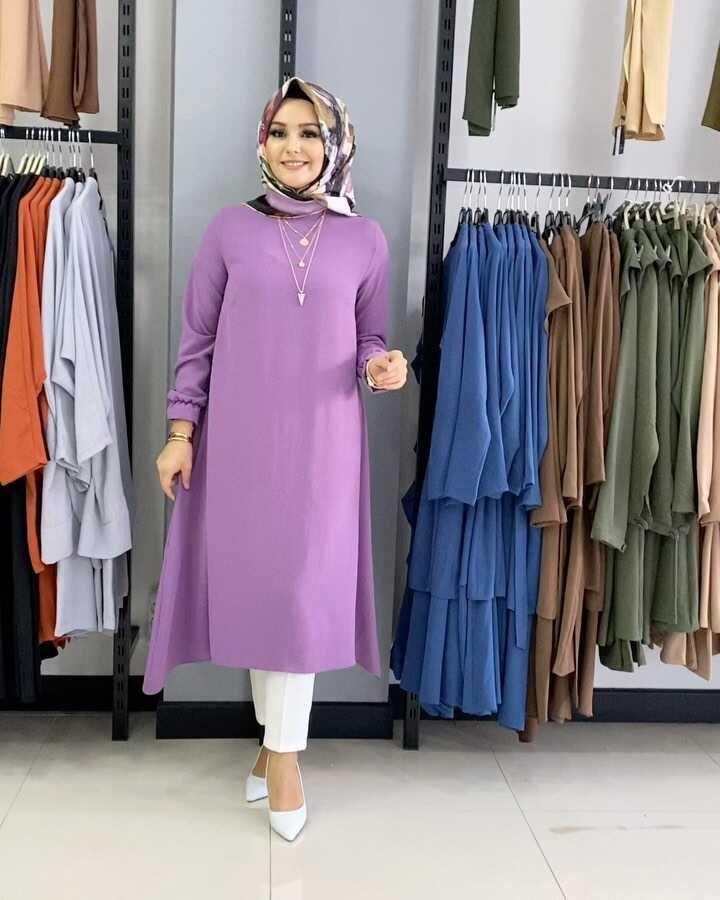 Mevlana Hijab Tunique Violet