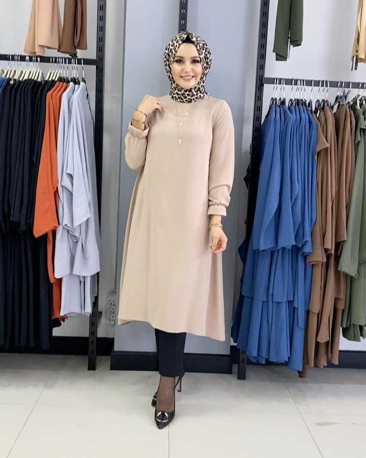 Mevlana Hijab Tunique Vison